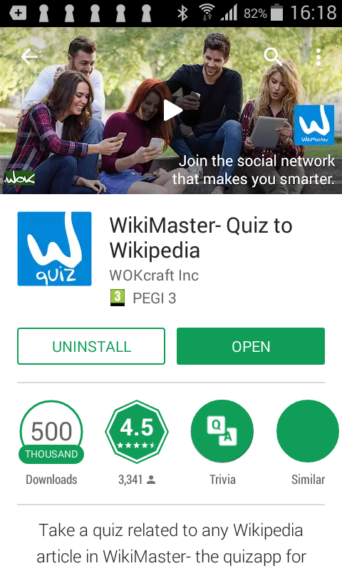 500000 downloads for WikiMaster a milestone in the WOK timeline