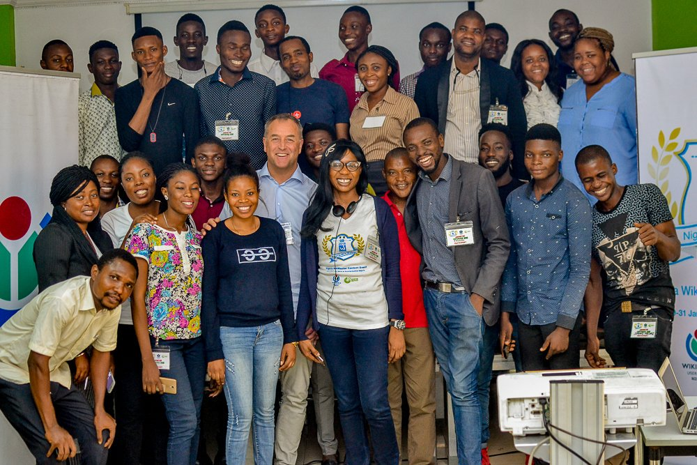 Pics from WikiMaster Nigeria Contest Event 2018 with Wikipedia in Lagos