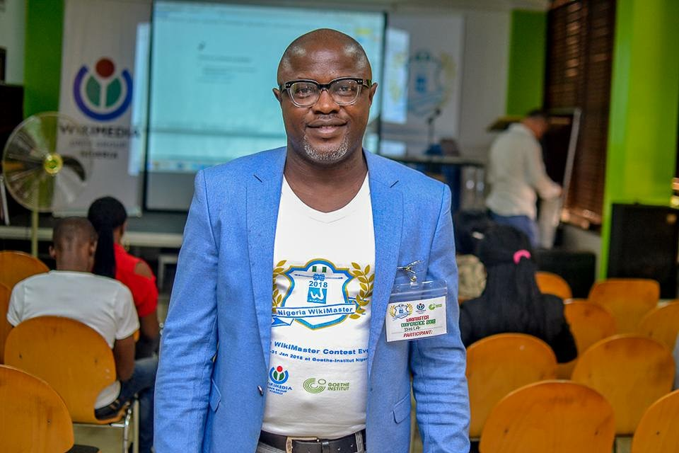 President of Wikipedia User Group Nigeria congratulates the Scholarship Award Winners 2018