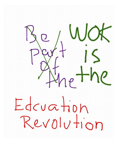 WOK DD WOK is the revolution 4 160904