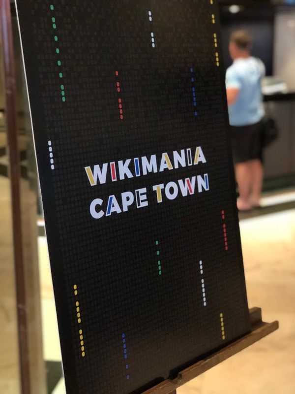 WikiMaster joined Wikimania 2018 Conference in Cape Town
