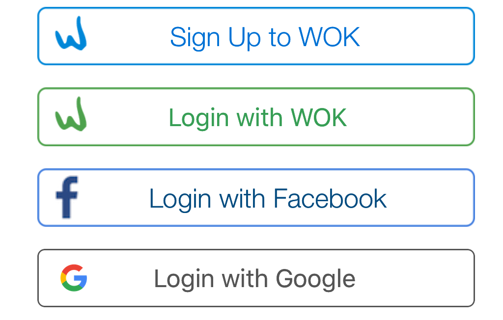 Google login is now the fastest way to login to the apps in WOK